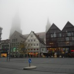 Ulm Cathedral in the Fog