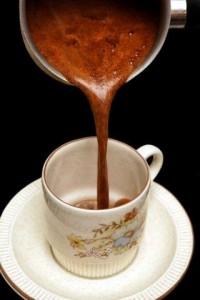 hot liquid