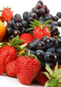 berries staining