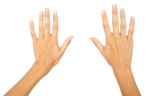 hands clean