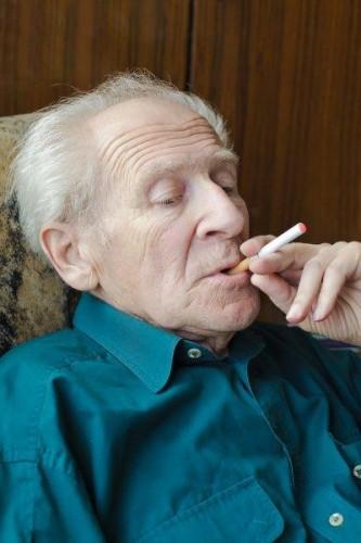 smoking old