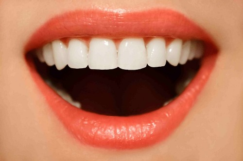 strong white teeth