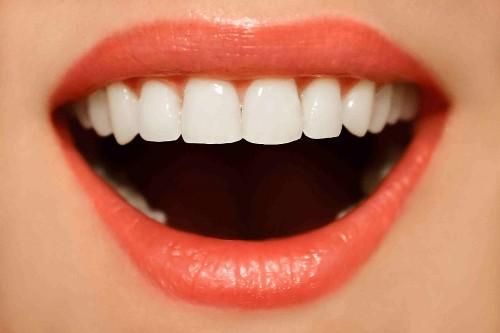strong white teeth