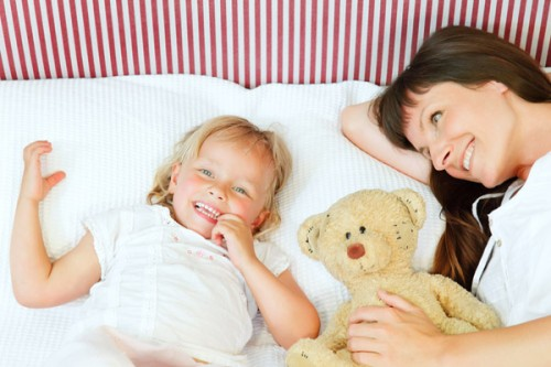 children sleep time